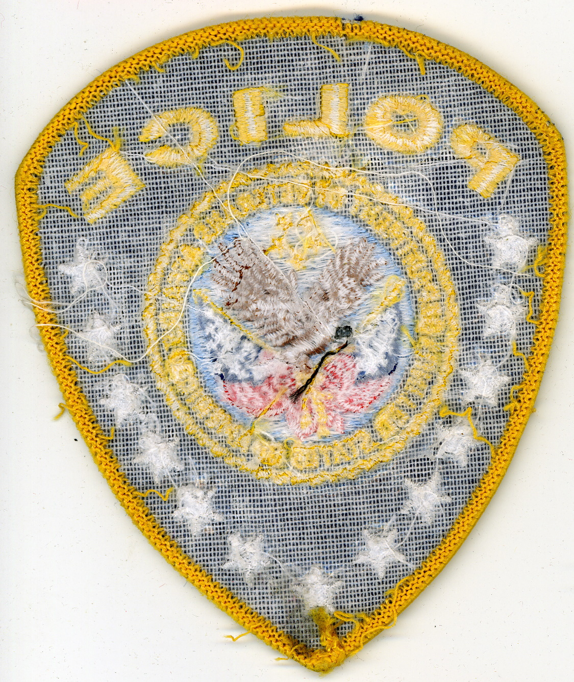 Veterans affairs police patches